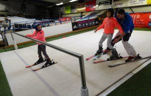 kinderfeestje skiën