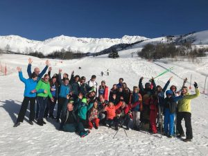 Skiteam Friesland skireis