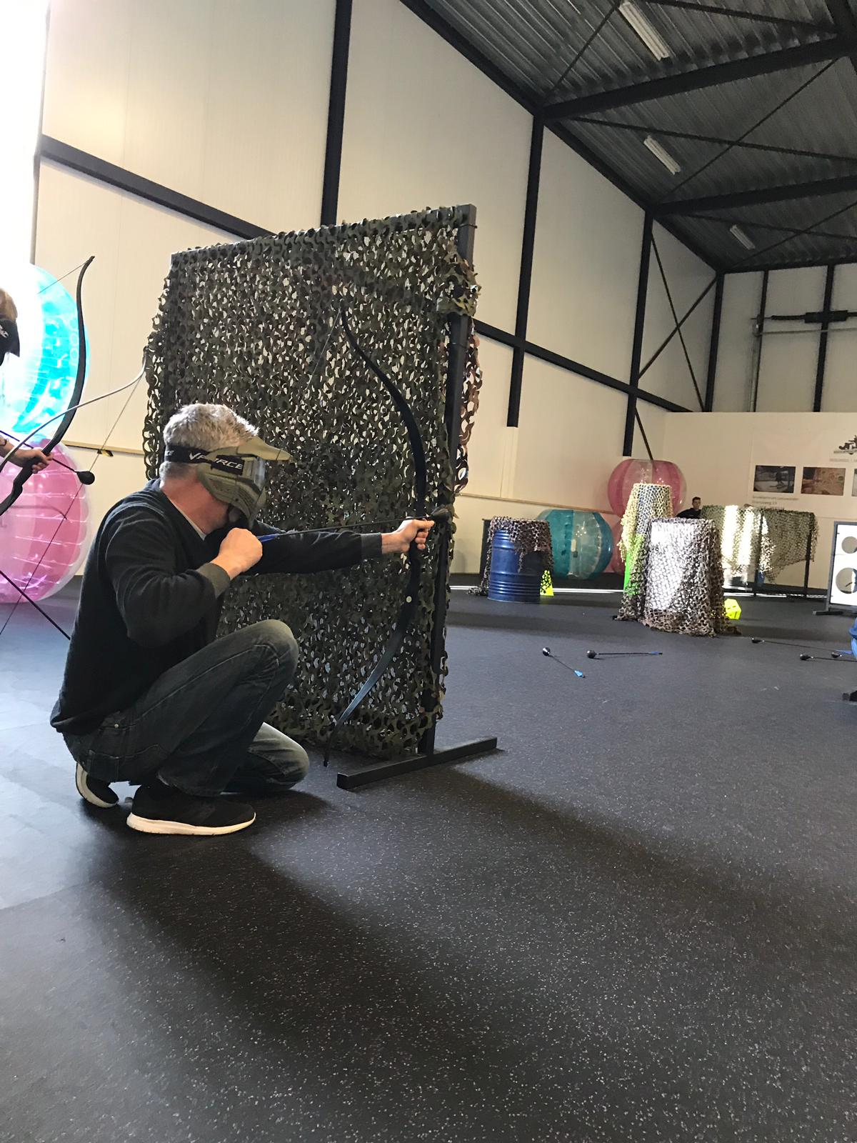 archery tag indoor fun snowcentrum joure friesland
