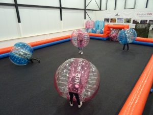 bubbelvoetbal indoor fun snowcentrum joure friesland