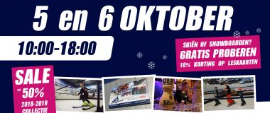 open dagen snowcentrum joure 2019