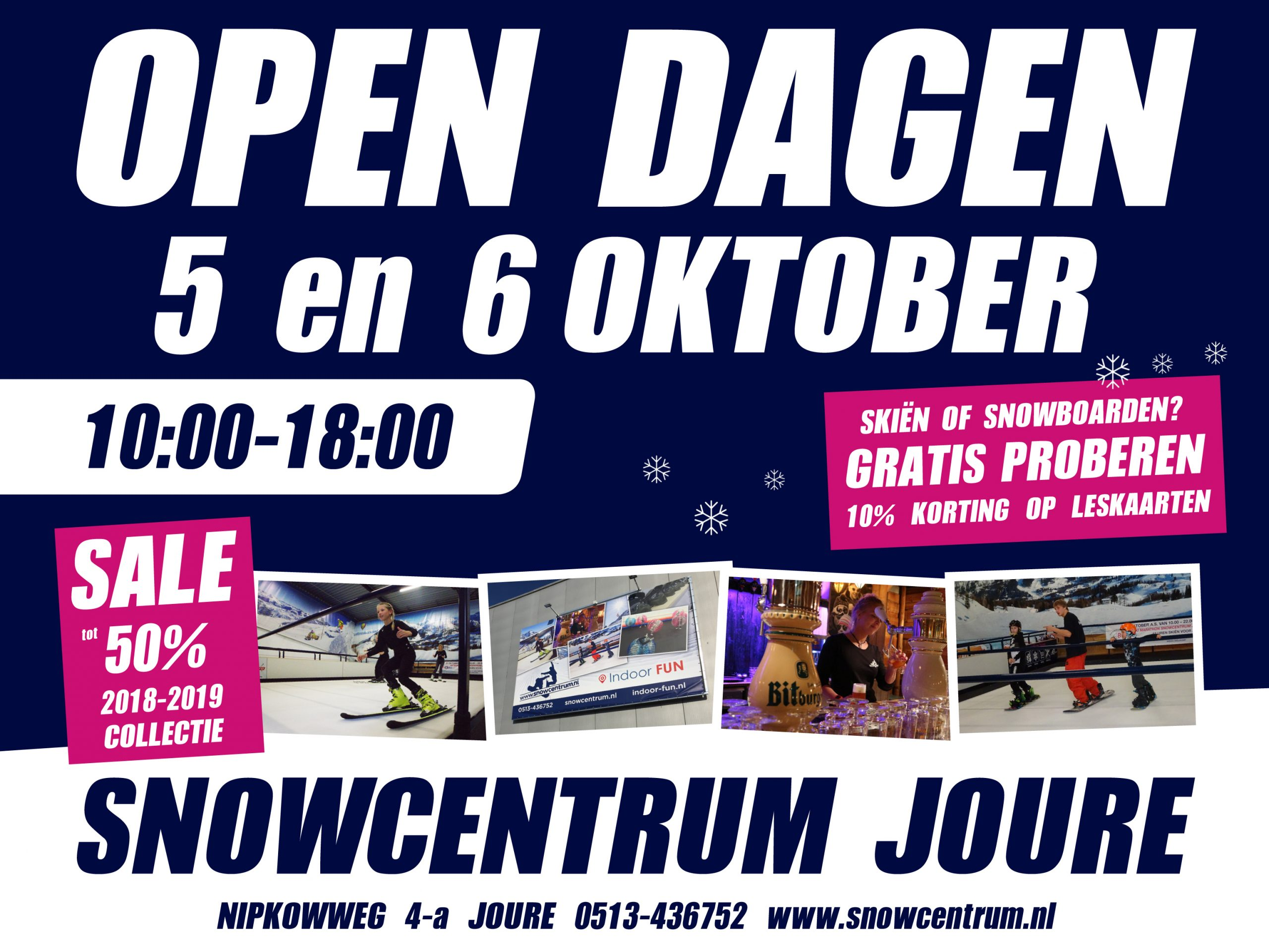open dagen snowcentrum joure 2019
