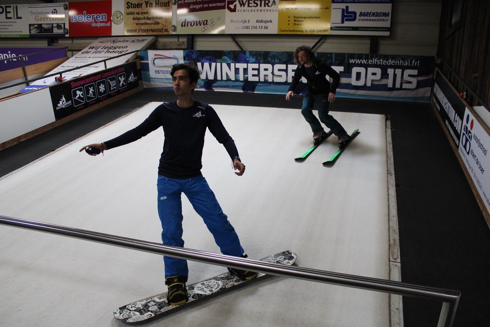 Open Dagen Snowcentrum Leeuwarden